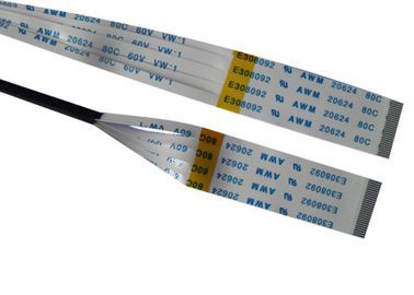 China 28AWG 20 Pin Ribbon Cable 2.0mm Pitch  Idc Copper Connector Customized Length distributor
