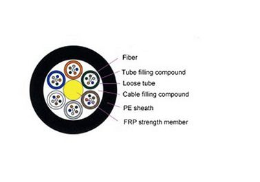 GYFTY Multimode Fiber Optic Cable Non - Armored Crush Resistance And Flexibility