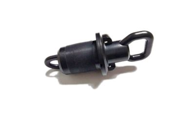 China Black Color 27mm duct plug FTTH Circular Simple Installation distributor